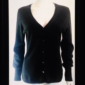 Uniqlo 100% Cashmere Button Down Sweater Cardigan